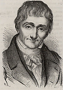Alexandre Brongniart (1770-1847) French geologist and mineralogist. He introduced term Jurassic for Cotswold clays and limestones.  Director of Sevres porcelain factory 1800-1847. Engraving from 'Les Merveilles de l'Industrie' by Louis Figuier (Paris, c1870).