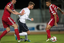 Falkirk's Rory Loy. Falkirk 0 v 5 Aberdeen, the third round of the Scottish League Cup.<br /> ©Michael Schofield.