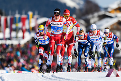 February 24, 2019 - Seefeld In Tirol, AUSTRIA - 190224 Johannes HÂ¿sflot Kl¾bo of Norway competes in menÃ•s team sprint semi final during the FIS Nordic World Ski Championships on February 24, 2019 in Seefeld in Tirol..Photo: Vegard Wivestad GrÂ¿tt / BILDBYRN / kod VG / 170296 (Credit Image: © Vegard Wivestad Gr¯Tt/Bildbyran via ZUMA Press)