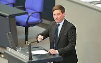 DEU, Deutschland, Germany, Berlin, 06.05.2021: Sebastian Hartmann (SPD) in der Plenarsitzung im Deutschen Bundestag.