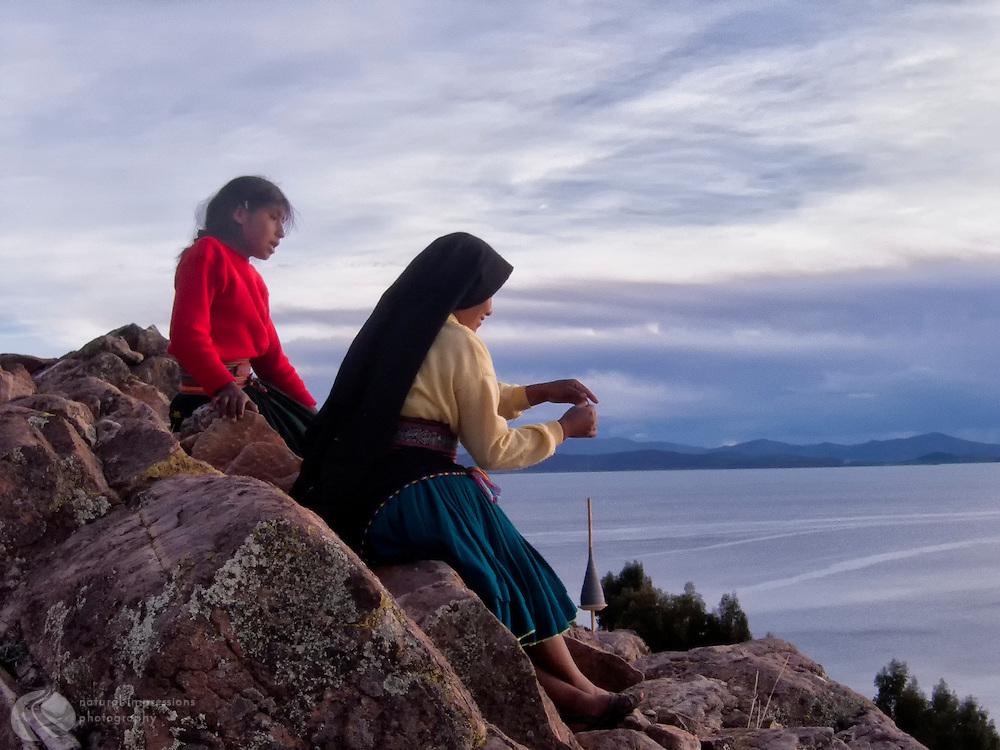 Amantani Island, Lake Titicaca, Peru