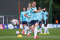 Camille Abily - 13.05.2015 - Entrainement - Equipe de France de Football feminin<br /> Photo : Andre Ferreira / Icon Sport