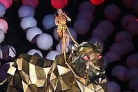 NFL<br /> Super Bowl<br /> 01.02.2015<br /> Foto: imago/Digitalsport<br /> NORWAY ONLY<br /> <br /> Halbzeitshow mit Katy Perry - Super Bowl XLIX, Seattle Seahawks vs. New England Patriots, University of Phoenix Stadium, Phoenix<br /> <br /> Half-time show with Katy Perry Super Bowl  Seattle Seahawks vs New England Patriots University of Phoenix Stage Phoenix