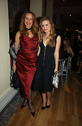 Left to right, JERRY HALL and her daughter GEORGIA MAY JAGGER at Andy & Patti Wong's annual Chinese New year Party, this year to celebrate the Year of The Pig, held at Madame Tussauds, Marylebone Road, London on 27th January 2007.<br /><br />NON EXCLUSIVE - WORLD RIGHTS