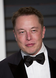 June 1, 2017 - Beverly Hils, California, United States of America - SpaceX and Tesla founder Elon Musk steps down today Thursday June 1, 2017 from the presidential advisory panels in response to Donald Trump's decision to withdraw from the Paris climate agreement. FILE PHOTO: Elon Musk on the red carpet at the 2015 Vanity Fair Oscar Party held at the Annenberg Center in Beverly Hills,  California, Sunday February 22, 2015. JAVIER ROJAS/PI (Credit Image: © Prensa Internacional via ZUMA Wire)