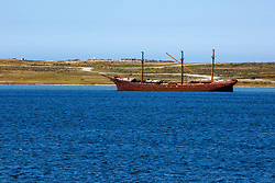 Shipwreck, Stanley Harbour