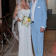 NLD/Amsterdam/20120716 - Huwelijk Mickey Hoogendijk en Adam Curry,