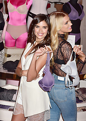 Victoria's Secret Anges Sara Sampaio and Elsa Hosk celebrate the Victoria's Secret T-Shirt Bra at Victoria's Secret Fifith<br /> Avenue on July 18, 2017 in New York city. MM/Abaca