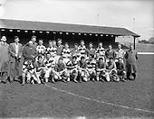 1958 - Soccer: Irish Shell v Shell Mex and B.P. (Northern Ireland) at Glenmalure Park.