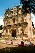 MEXICO, COLONIAL CITIES San Cristobal de las Casas, church