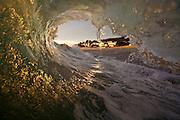 Wave Crashing at Aliso Creek Beach in  Laguna Beach