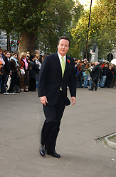 DAVID CAMERON at the wedding of Clementine Hambro to Orlando Fraser at St.Margarets Westminster Abbey, London on 3rd November 2006.<br /><br />NON EXCLUSIVE - WORLD RIGHTS