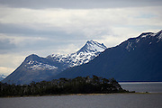 Cruising through Beagle Channel, Patagonia, Chile