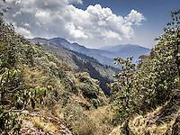Annapurna Dhaulagiri trail from Bayli Kharka to Khopra Ridge, Nepal