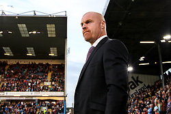 Burnley manager Sean Dyche - Mandatory by-line: Robbie Stephenson/JMP - 30/08/2018 - FOOTBALL - Turf Moor - Burnley, England - Burnley v Olympiakos - UEFA Europa League Play-offs second leg