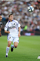 FOOTBALL - FRENCH CHAMPIONSHIP 2010/2011 - L1 - GIRONDINS DE BORDEAUX v TOULOUSE FC - 15/08/2010 - PHOTO GUY JEFFROY / DPPI - FRANCK TABANOU (TOU)