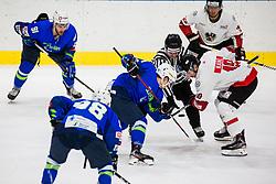 Kainz Lukas of Austria during match at Beat Covid 19 IIH Tournament 2021 between national teams of Slovenia and Austria in Hala Tivoli on 15th of May, 2021, Ljubljana, Slovenia . Photo By Grega Valancic / Sportida