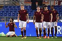 Esultanza Gol Mohamed Salah Roma Goal celebration <br /> Roma 04-03-2016 Stadio Olimpico, Football Calcio Serie A 2015/2016 AS Roma - Fiorentina.  Foto Andrea Staccioli / Insidefoto
