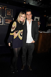 TICKY HEDLEY-DENT and DAN PIRRIE at the Tatler Magazine Little Black Book party at Tramp, 40 Jermyn Street, London SW1 on 5th November 2008.