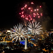 Fireworks at Liberty Memorial, Celebration At The Station, Memorial Day weekend, 2018, Kansas City, Missouri.