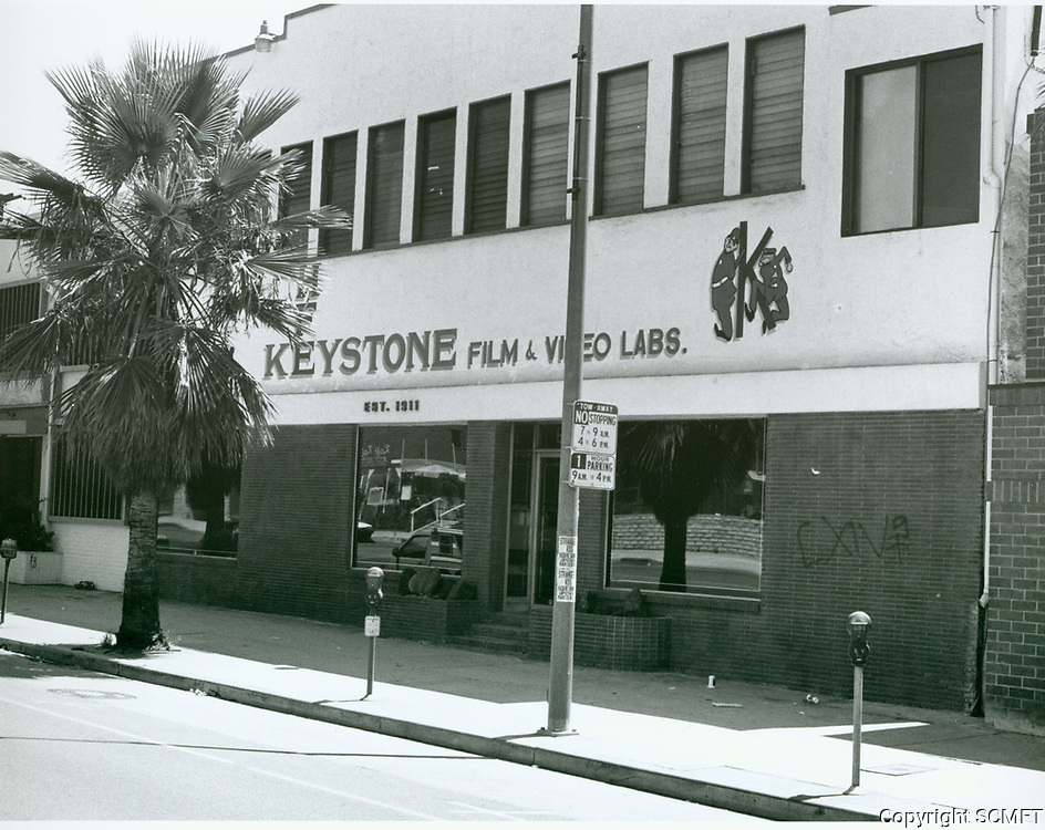 1987 Keystone Film Lab. on Sunset Blvd. at Gower St.