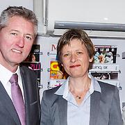NLD/Amsterdam/20150326 - Boekpresentatie de Roze Moorden, auteur Paul Hofman en voorzitter van COC Nederland Tanja Ineke