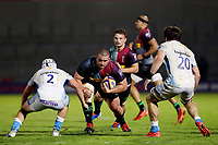 Rugby Union - 2019 / 2020 Premiership Rugby Cup - Final - Sale Sharks vs Harlequins<br /> <br /> Wilco Louw of Harlequins, at the A J Bell Stadium.<br /> <br /> COLORSPORT/PAUL GREENWOOD