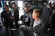 January 2013: filming of NASCAR commercials. <br /> <br /> Clint Boyer & Brad Keselowski