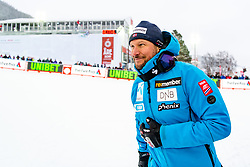 February 9, 2019 - Re, SWEDEN - 190209 Aksel Lund Svindal of Norway celebrates after the  men's downhill during the FIS Alpine World Ski Championships on February 9, 2019 in re..Photo: Joel Marklund / BILDBYRN / kod JM / 87853 (Credit Image: © Joel Marklund/Bildbyran via ZUMA Press)
