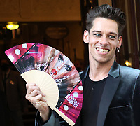 Louis Noll at the  'Alyssa, Memoirs of a Queen' gala performance, Vaudeville Theatre, The Strand, London, UK - 10 Jun 2021 photo by Roger Alarcon