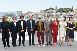 Pedro Almodovar, Maren Ade, Jessica Chastain, Agnes Jaoui, Fan Bingbing, Park Chan-Wook, Paolo Sorrentino, Gabriel Yared and Will Smith attending the Jury photocall as part of the 70th Cannes Film Festival in Cannes, France on May 17, 2017. Photo by Nicolas Genin/ABACAPRESS.COM