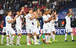 PSG's Joy during the UEFA Champions League Paris Saint-Germain v Real Madrid at the Parc des Princes stadium on September 18, 2019 in Paris, France. PSG won 3-0. Photo by Christian Liewig/ABACAPRESS.COM