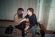 ALICE WATT; SAM GILL, NME Awards after-party. Sanderson Hotel. 29 February 2012
