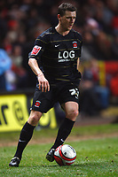 Fotball<br /> England<br /> 19.01.2010<br /> Foto: Colorsport/Digitalsport<br /> NORWAY ONLY<br /> <br /> Coca-Cola Div 1<br /> Charlton Athletic Vs Hartlepool United at The Valley<br /> Colin Larkin of Hartlepool United