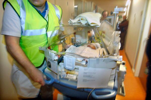 Nederland, Nijmegen, 17-11-2007..Ontruimingsoefening, academisch ziekenhuis umc Nijmegen. Brandveiligheid. preventie...Foto: Flip Franssen/Hollandse Hoogte