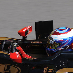 Russian Vitaly Petrov drives the Lotus Renault GP R31 during practice for the 2011 Formula 1 Canadian Grand Prix, Montral, QC.