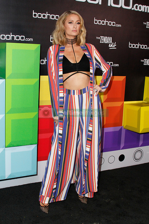 Boohoo Hosts 'The Zendaya Edit' Block Party at The Highlight Room on March 21, 2018 in Hollywood, California. 21 Mar 2018 Pictured: Paris Hilton. Photo credit: FS/MPI/Capital Pictures / MEGA TheMegaAgency.com +1 888 505 6342