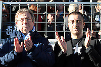 Jacky LORENZETTI / Mourad BOUDJELLAL - 10.01.2015 - Toulon / Racing Metro - 16e journee Top 14<br />Photo : Jc Magnenet / Icon Sport