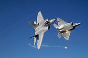 F-22 flares