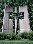 Bell tower, Daylesford Abbey, Paoli, Pennsylvania, USA