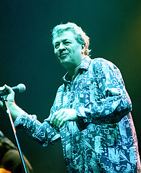 Ian Gillan Vicalist with the legendry Rock Band Deep Purple, Rocking the Sheffield City Hall audience on Feb 12 2002. The two hour set,  part of the bands 2002 - 2003 world tour featured many of the old classics, When a Blindman Cries, Hush,Smoke On The Water, Black Night, Woman from Tokyo, Highway Star, Lazy alnong with some of the newer numbers and one Brand new and as yet unrecorded song.