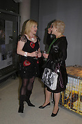 Wendy Turner-Webster and Liz Fraser. Cocktail party celebrating Born Free Foundation 21 years anniversary.  Royal Geographical Society, Kensington Gore. 14 march 2005. ONE TIME USE ONLY - DO NOT ARCHIVE  © Copyright Photograph by Dafydd Jones 66 Stockwell Park Rd. London SW9 0DA Tel 020 7733 0108 www.dafjones.com