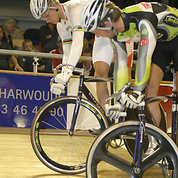NK Sprint Theo Bos vs Teun Mulder