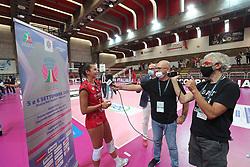 SUPERCOPPA 2020-2021 PALLAVOLO FEMMINILE <br /> UNET E-WORK BUSTO ARSIZIO - IGOR GORGONZOLA NOVARA<br /> VICENZA 06-09-2020<br /> FOTO FILIPPO RUBIN