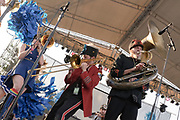 Mucca Pazza live at the Nelsonville Music Festival Saturday May 19. 2012, 7pm, photo by Mara Robinson