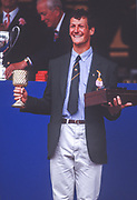 Henley on Thames,  United Kingdom, Diamond Challenge Sculls, GH McGlashan, AUS M1X, 1988 Henley Royal Regatta, Henley Reach, Thames Valley, British Summertime.<br /> [Mandatory Credit, Peter SPURRIER/Intersport Images] <br /> <br /> Scans from Positives, April 2019