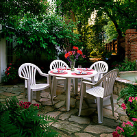 Rubbermaid Outdoor Furniture Advertisement and Marketing Photo