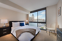 Interior design and Architectural Photography of the Newseum Residences Apartments in Washington DC by Jeffrey Sauers of Commercial Photographics, Architectural Photo Artistry in Washington DC, Virginia to Florida and PA to New England