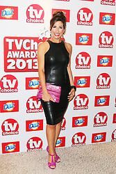 © Licensed to London News Pictures. 09/09/2013, UK.  Gaynor Faye, TV Choice Awards, The Dorchester Hotel, London UK, 09 September 2013 Photo credit : Richard Goldschmidt/Piqtured/LNP