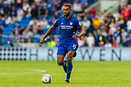 Cardiff City defender Curtis Nelson  (16) in action during the EFL Sky Bet Championship match between Cardiff City and Bournemouth at the Cardiff City Stadium, Cardiff, Wales on 18 September 2021.